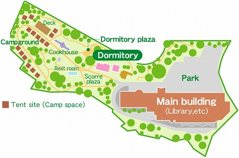 Dormitory map